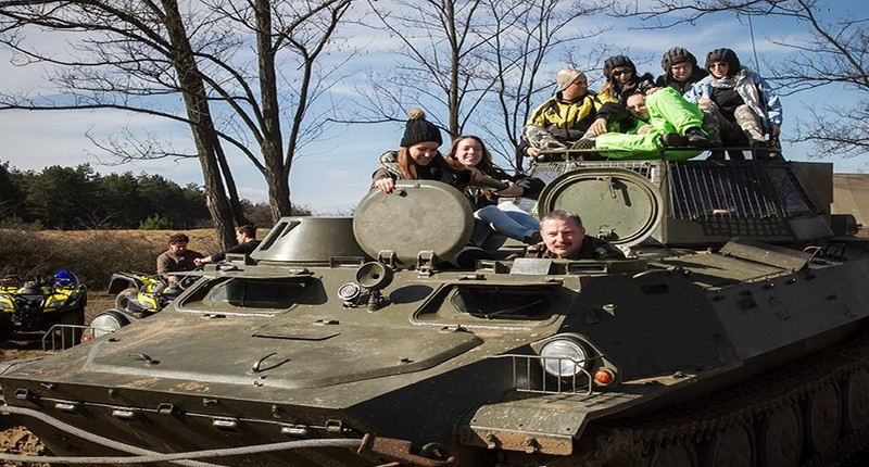 Hungary Tank, quad and helicopter ride near Budapest