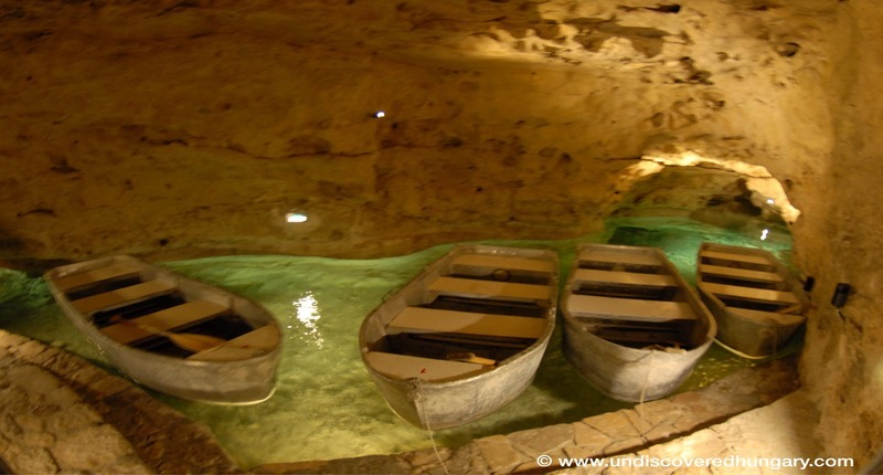 Hungary Tapolca cave lake