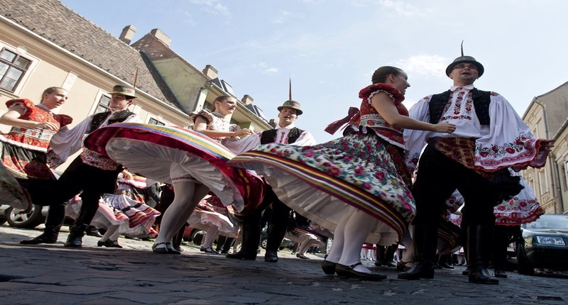 Hungary Easter festival at Buda Castle